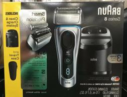 Braun Series 8 Wet/Dry Electric Shaver with Clean Charge Sta