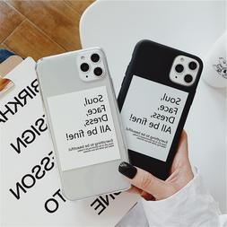 Simple Artistic Letter Phone <font><b>Cases</b></font> For i