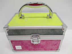 Caboodles Travel Aluminum Makeup Case Cosmetic Jewelry Box 7