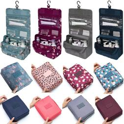 Travel Cosmetic Makeup Bag Toiletry Case Hanging Pouch Wash