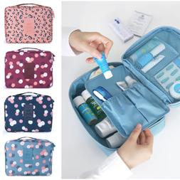 Travel Cosmetic Makeup Toiletry Case Bag Wash Organizer Stor