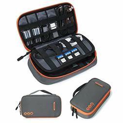 BAGSMART Travel Electronic Accessories Thicken Cable Organiz
