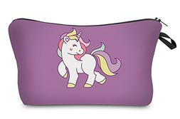 StylesILove Unique Unicorn Collection Pouch Travel Case Cosm