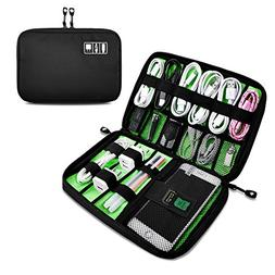 Travel Universal Cable Organizer Bag, Small Electronics Acce