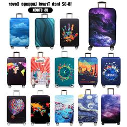 """US 18-32"""" Travel Luggage Case Cover Elastic Anti-Scratch Sui"""