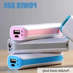 USB Mini Travel External Backup CellPhone Battery Charger Po