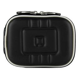 VG EVA Compact Travel Camera Case w/ Carbineer for Sony Cybe