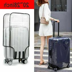 Waterproof Clear Transparent Luggage Suitcase Cover Case Pro