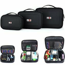 Damai 3pcs/set Portable Electronic Accessories Travel Organi