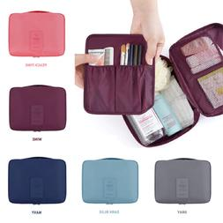 Waterproof Women Makeup Case Travel Cosmetic Bag Pouch Toile