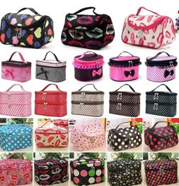 Women Beauty Cosmetic Makeup Case Travel Wash Toiletry Bag O
