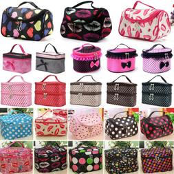 makeup travel cosmetic bag case multifunction pouch