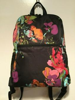 Tumi Women's Floral Collage Just In Case Backpack w/Pouch Bl