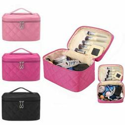 Women Travel Cosmetic Case Toiletry Makeup Handbag Organizer